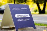 open house board