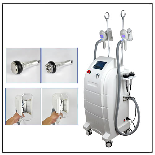 Cavitation RF Cryolipolyse Machine