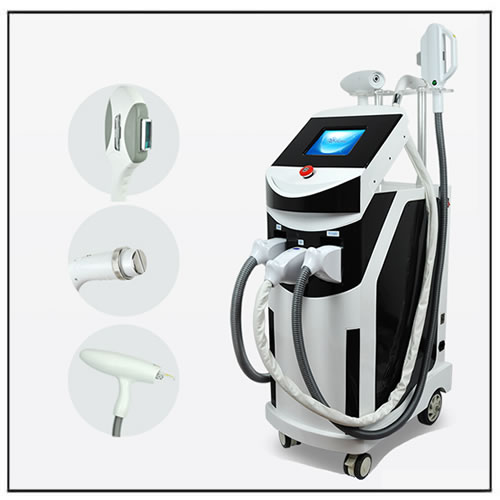 Multi-function RF IPL Laser Tattoo and Hair Removal Machine