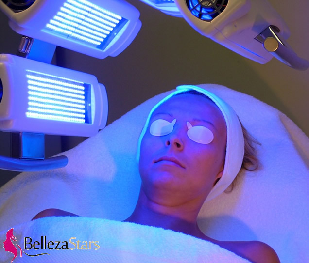 Phototherapy facial and body rejuvenation by LED
