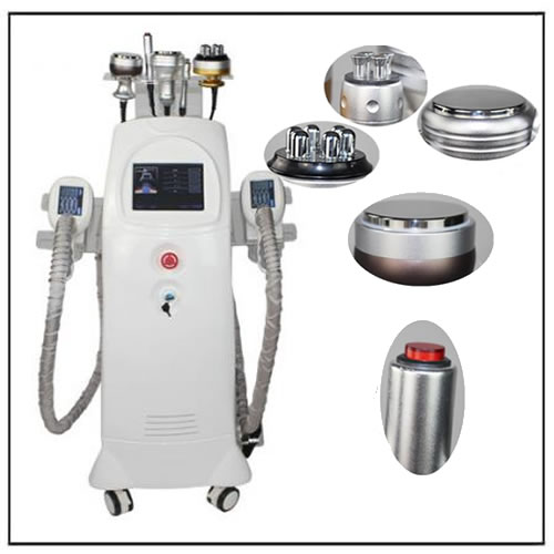 6 IN 1 Criolipolisis Hifu Cavislim Vacuum Liposuction Fat Freezing Machine