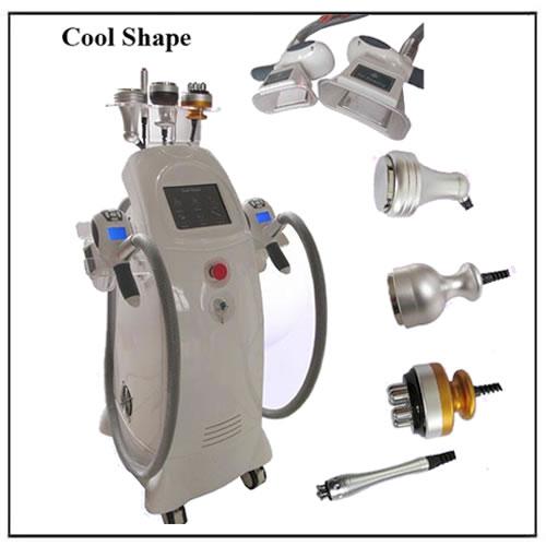 Cool Shape System Ultrasound RF Cavitation Cryolipolysis