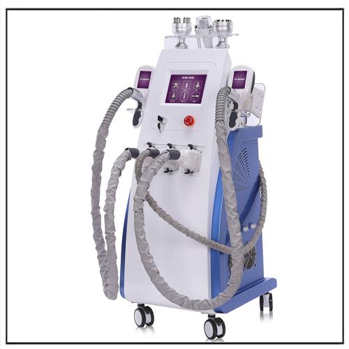 3 Cryo Handles RF Cryolipolysis Cavitation Equipment