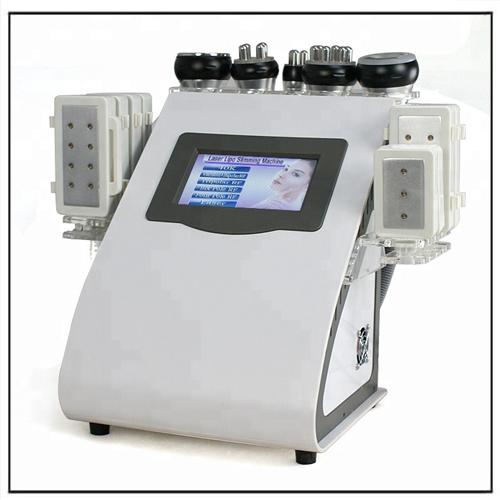 6 in 1 Cavitation + RF + Vacuum Laser Lipo Slimming System