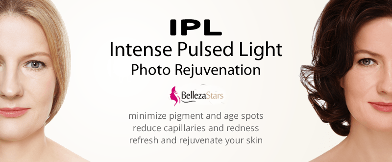 Intense Pulsed Light Therapy (IPL) Treatments