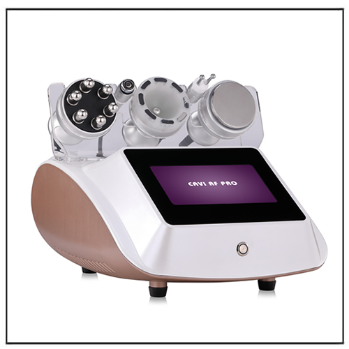 Mini Cavitation Tripolar RF Cellulite Removal Beauty Equipment
