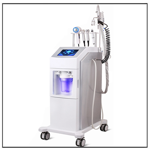 6 in 1 Jet Peel Mesotherapy Oxygen Microdermabrasion Machine