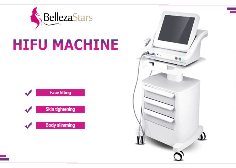 HIFU High Intensity Focused Ultrasound For Face Lifting Skin Tightening Body Slimming