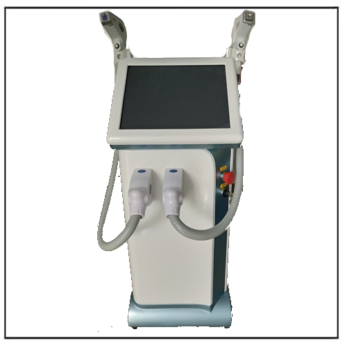 808nm 755nm Fiber Diode Laser Hair Removal Beauty Machine