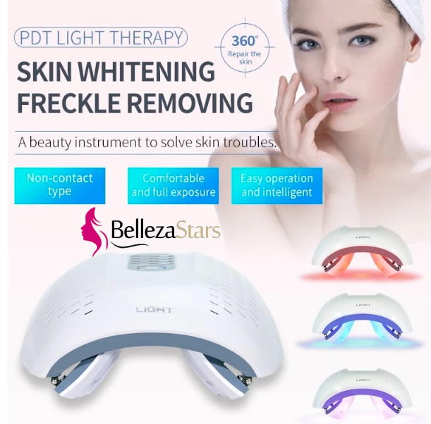 Best Blue Red Led light Facial Rejuvenation Therapy Device