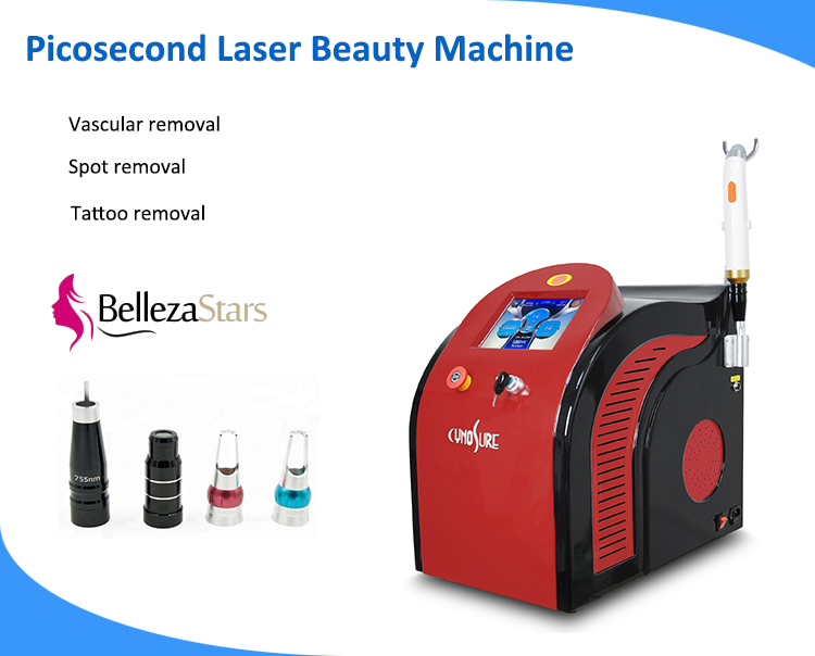 Laser Picosecond Tattoo Pigment Removal Beauty Machine