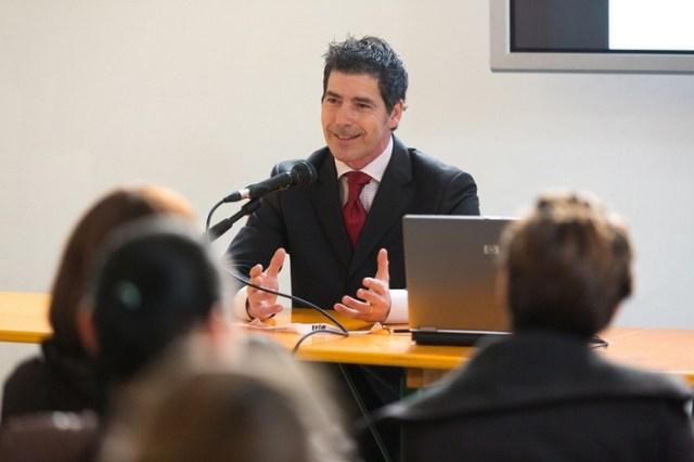 La conferenza sull'autostima del coach motivazionale Giancarlo Fornei