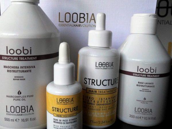 Capelli danneggiati e sfibrati? STRUCTURE di LOOB1A!