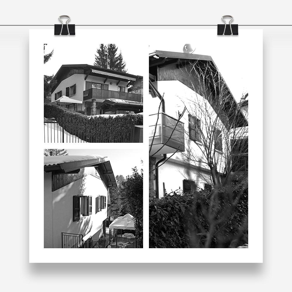 il nido: progetto di architettura per il restyling esterno di un'abitazione unifamiliare