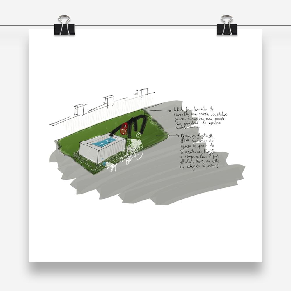 senti le mucche: progetto urbano e di design per la realizzazione di una fontana pubblica attraverso il riutilizzo di un abbeveratoio delle mucche