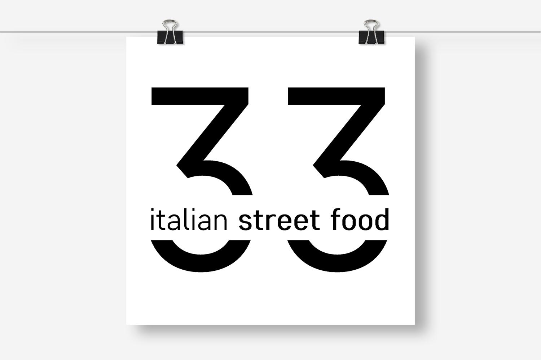 branding per 33italianstreetfood: progetto di comunicazione per un nuovo locale adibito a caffè e ristorante