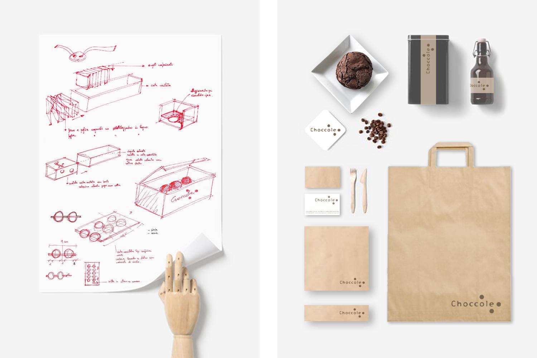 branding per choccole: progetto di comunicazione per un nuovo locale adibito a cioccolateria