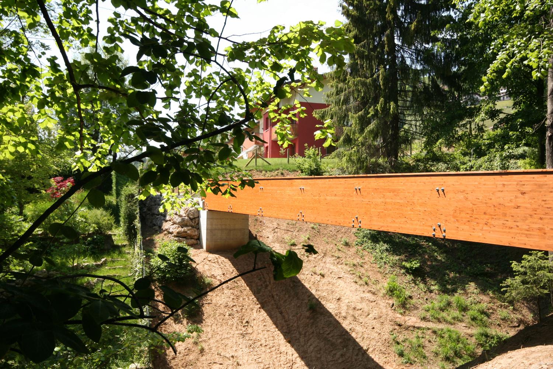 via sorte: progetto urbano per la realizzazione di una nuova passerella pedonale in via Sorte a Castione della Presolana