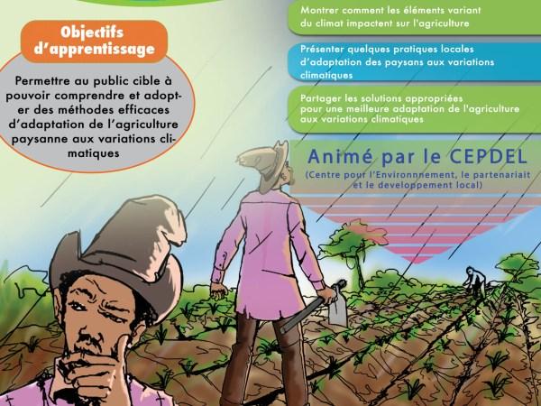 Agriculture paysanne et changements climatiques
