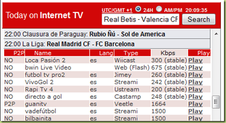 real madrid barcellona streaming