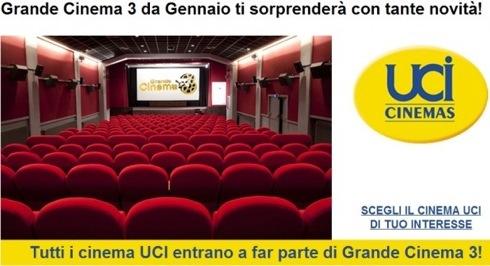 promozione grande cinema tre 2013