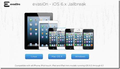 jailbreakios6Evasi0n thumb Guida Jailbreak iOS 6 Untethered con Evasi0n [Windows / Mac / Linux]