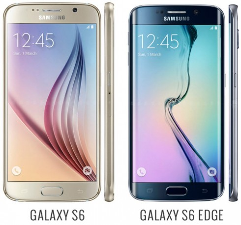 Differenze Galaxy S6 e Galaxy S6 Edge