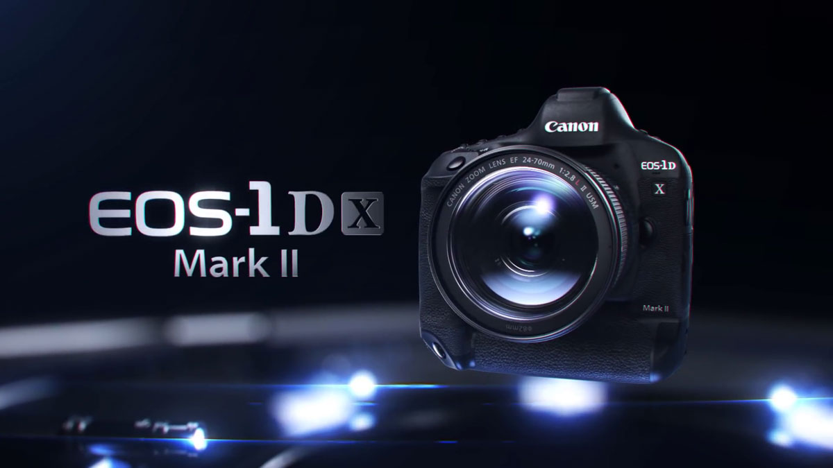 Canon EOS-1D X Mark II full-frame DSLR, 20.2MP, 4K video