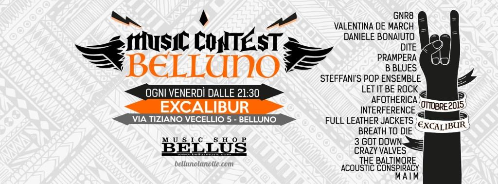 Music Contest Belluno: i finalisti