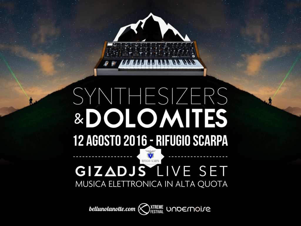 Synthesizers & Dolomites: musica elettronica in alta quota!