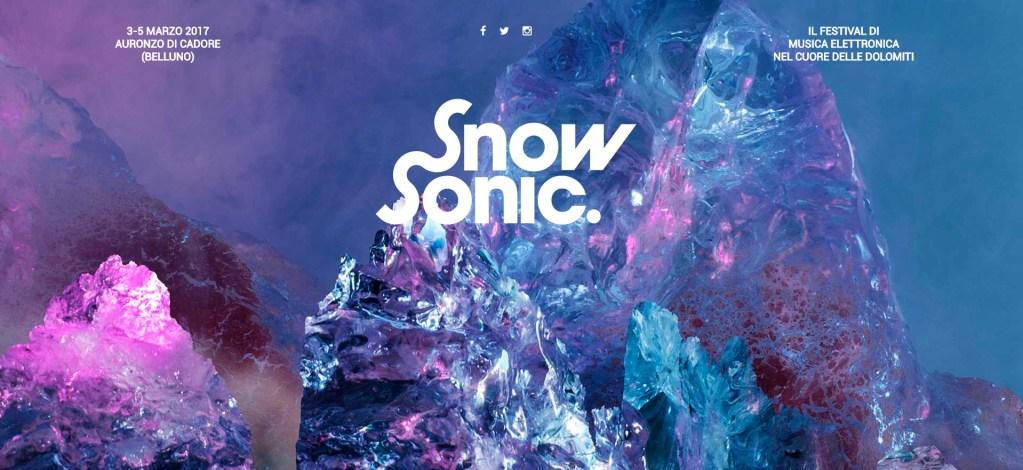 Snow Sonic Festival – Auronzo 3-5 Marzo 2017