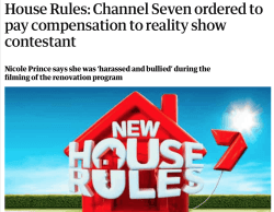 House Rules compensation