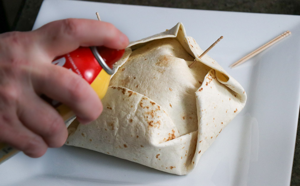 Air Fryer Crunch Wrap
