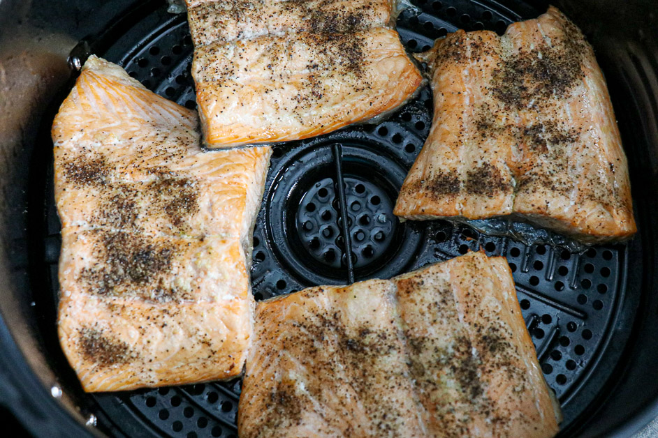 Salmon in the Air Fryer