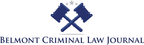 Belmont Criminal Law Journal
