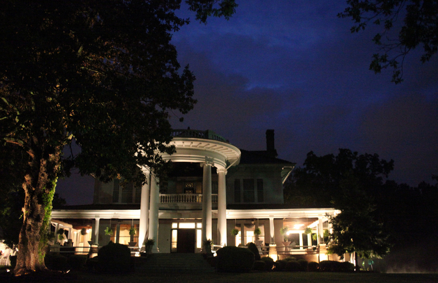 Belmont Estate South Of Danville VA Has NC Wedding