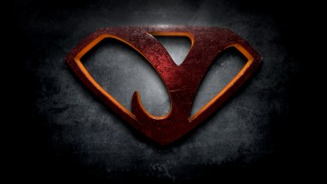 "The letter Y in the style of ""Man of Steel"""