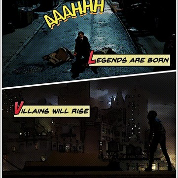 Gotham Comic Book - Page 2