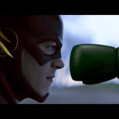 Boxing Glove Arrow Screenshot Featuring The Flash