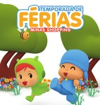 Parque temático com personagem Pocoyo é uma das atrações de férias no Minas Shopping