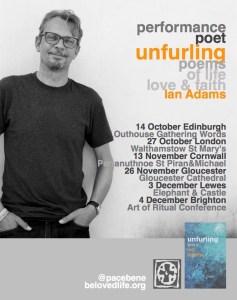 Flyer for Autumn 2015 gigs v2