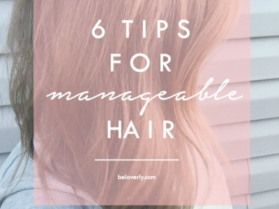 How to Get Manageable Hair
