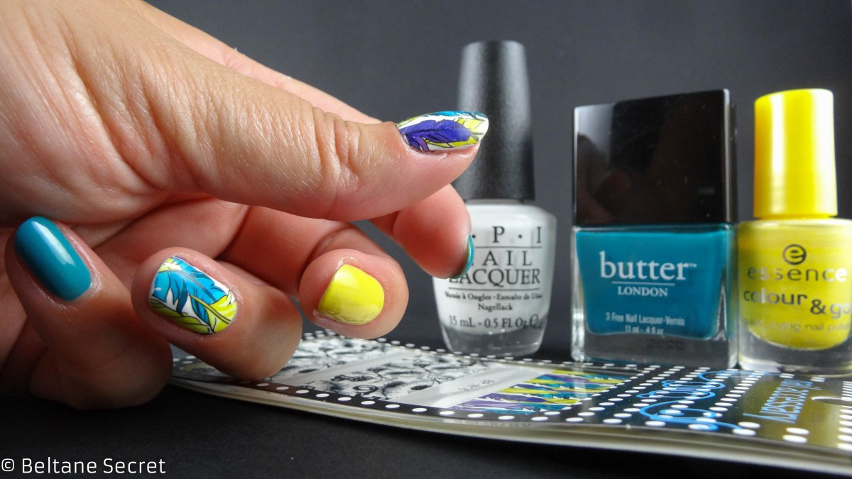 Colorful Nail Art avec Water Decals Bornprettystore
