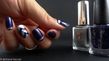 Moonstone Nail Polish Midnight Express Nail Art