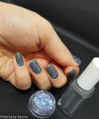 Nail Art Vitrail Glass Nails Manucurist Gris n1-8