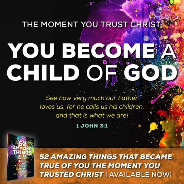You Became a Child of God