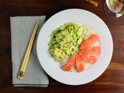 Salmon Brussels