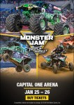 Monster Jam Triple Threat Series at Capital One Center  + GIVEAWAY