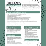 Badlands playspace switches gears, offers in-person enrichment program
