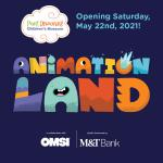 Port Discovery Children's Museum announces opening of temporary exhibit Animationland